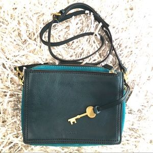 NWT Fossil Crossbody Campbell Bag